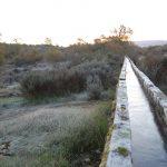 Aquaduct in Winter